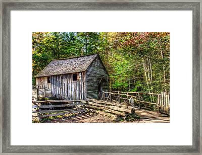 Mill Framed Print by E Mac MacKay
