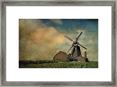 Mill Framed Print by Heike Hultsch