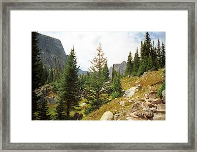 Mill Lake Framed Print