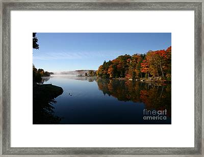 Mill Lake Thanksgiving Framed Print