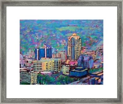 Mill Mountain View Framed Print