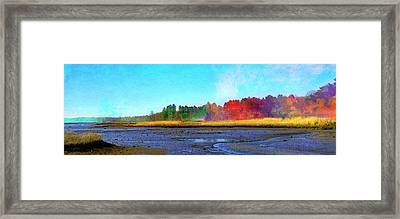 Mill Neck Framed Print by Robin Mead