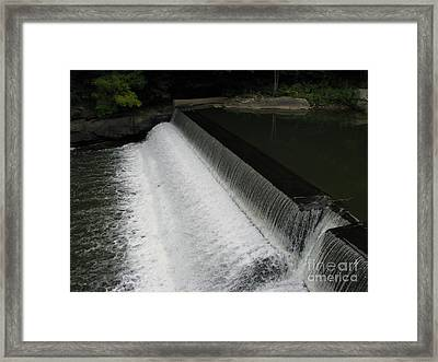 Mill On The River Framed Print