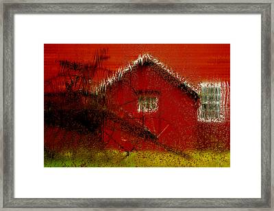 Mill - Rainy Day Series Framed Print by Jack Zulli