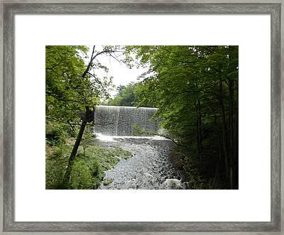 Mill River Framed Print