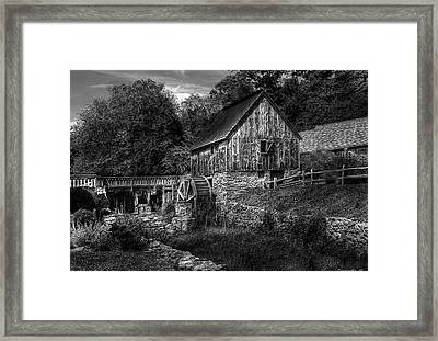 Mill - The Mill Framed Print by Mike Savad