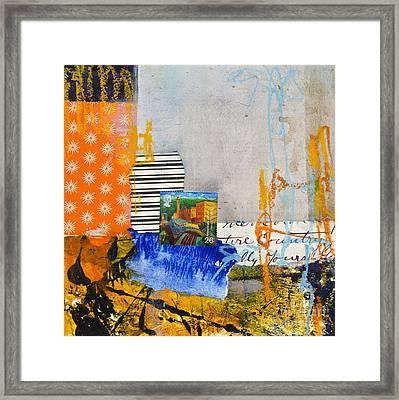 Mill Town Framed Print by Elena Nosyreva