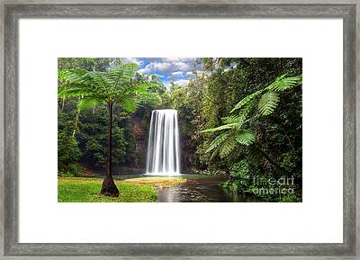 Milla Milla Falls Framed Print by Shannon Rogers