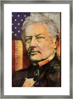 Millard Fillmore Framed Print by Corporate Art Task Force