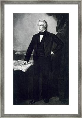 Millard Fillmore Framed Print by George Healy