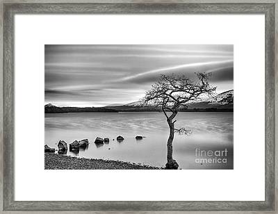Millarochy Bay Loch Lomond  Framed Print by John Farnan