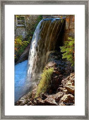 Millcroft Falls Framed Print