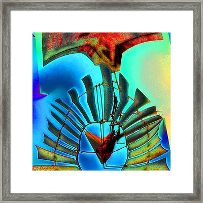 Milled Heart Framed Print by Wendy J St Christopher
