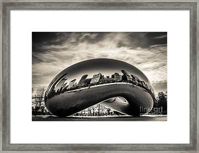 Millenium Bean  Framed Print