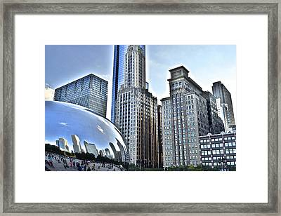 Millenium Park Framed Print by Frozen in Time Fine Art Photography