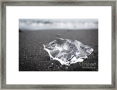 Framed Print featuring the photograph Millennium Ice by Peta Thames
