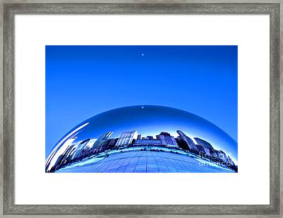 Millennium Moonrise  Framed Print
