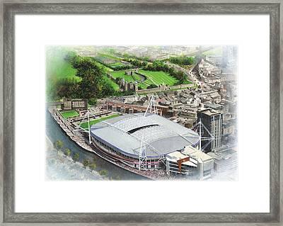 Millennium Stadium Framed Print