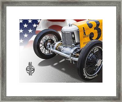 Miller 91 With Badge Framed Print