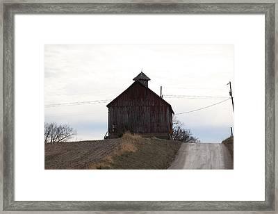 Miller  Barn Framed Print