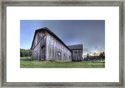 Miller Barn At Sleeping Bear Dunes Framed Print by Twenty Two North Photography