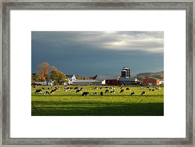 Framed Print featuring the photograph Miller Farm by Paul Miller