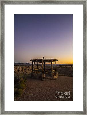 Miller Point Cathedral Gorge Framed Print