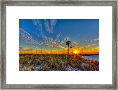 Miller Time Framed Print by Marvin Spates