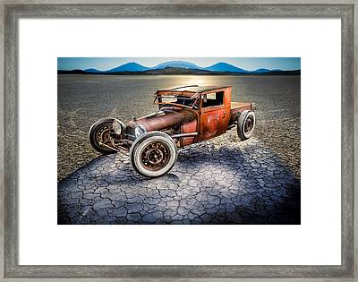 Millers Chop Shop 1929 Model A Truck Framed Print by Yo Pedro