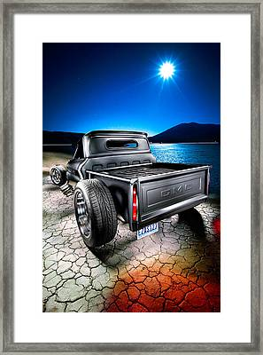 Millers Chop Shop 1964 Gmc Easy As 123 Framed Print by Yo Pedro