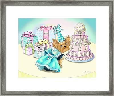 Millie Larue Birthday Party Framed Print