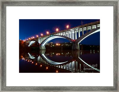 Million Dollar Bridge D300_09669 Framed Print by Kevin Funk