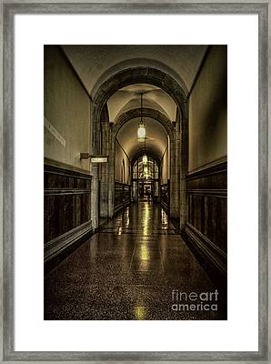 Million Dollar Hallway Framed Print