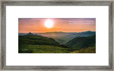 Million Dollar View - Pano Framed Print