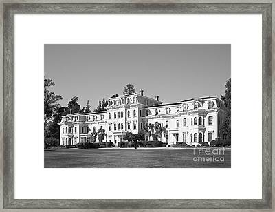 Mills College Mills Hall Framed Print by University Icons