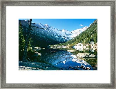 Mills Lake Framed Print
