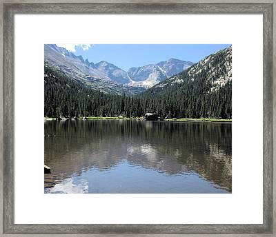 Mills Lake Framed Print