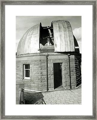 Mills Observatory Framed Print by Royal Astronomical Society