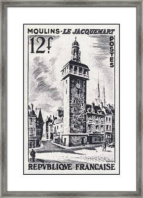 Mills - The Jacquemart Framed Print
