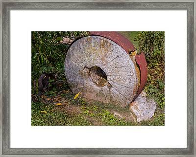 Millstone Framed Print by Zina Stromberg