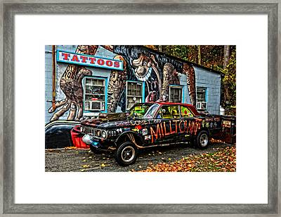 Milltown's Edsel Comet Framed Print by Mike Martin