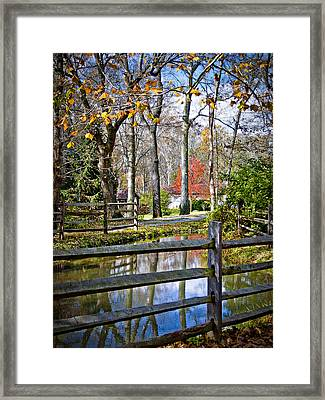Millwood Framed Print by Williams-Cairns Photography LLC
