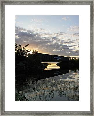 Milo Town Of Three Rivers Framed Print