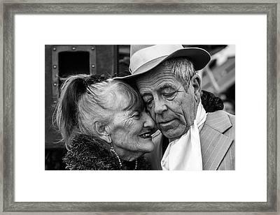 Milonga Framed Print