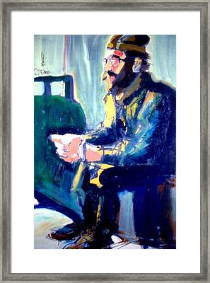Milosivich Framed Print by Les Leffingwell