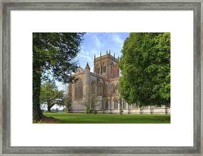 Milton Abbey Framed Print