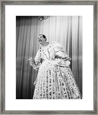 Milton Berle, Ca. 1950s Framed Print