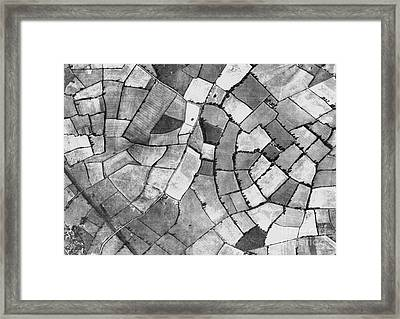 Milton Keynes, Historical Aerial Framed Print by Getmapping Plc