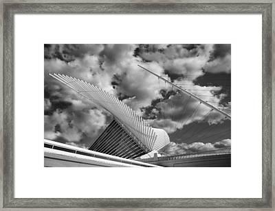 Milwaukee Art Center 2 Framed Print by Jack Zulli