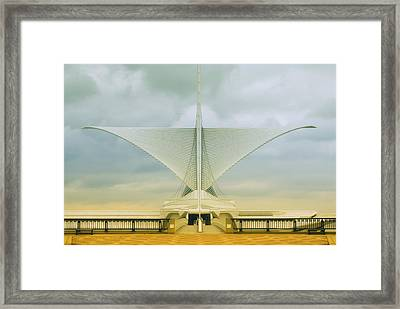 Milwaukee Art Center Framed Print